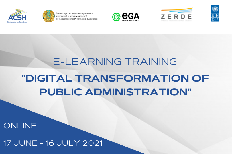 Five-week Training Course on Digital Transformation of Public Administration for Vice Ministers has begun