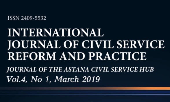 The 11th issue of the International Journal of  Civil Service Reform and Practice has been published