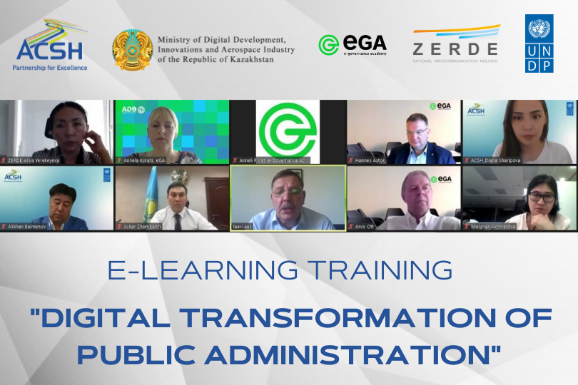 Vice Ministers have completed a Five-week Training Course on Digital Transformation of Public Administration