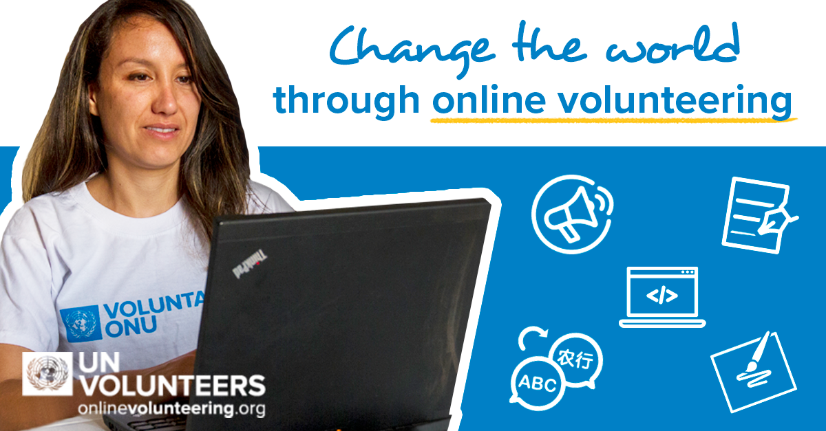 UN Volunteers Programme shared online platform for volunteering service