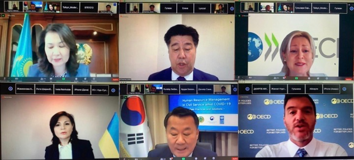The best practices in the field of human resources management in the ciivl service were discussed during the global online conference