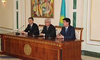 Signed an agreement for cooperation on training of diplomats