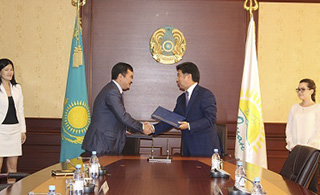 Memorandum of cooperation was signed between the Regional Hub of Civil Service in Astana and Ministry for Investment and Development of the Republic of Kazakhstan