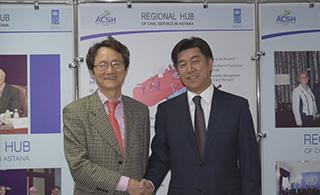 The Republic of Korea and the Regional Hub in Astana strengthen partnership