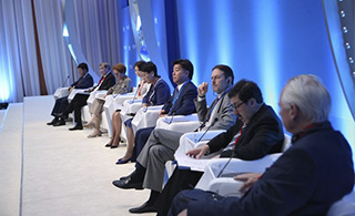 Effectiveness of the Regional Hub was Noted at the Global Conference on Leadership Issues