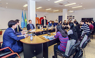 Regional Hub of Civil Service in Astana Hosted a Meeting with the Hub's Fellows from the Participating Countries