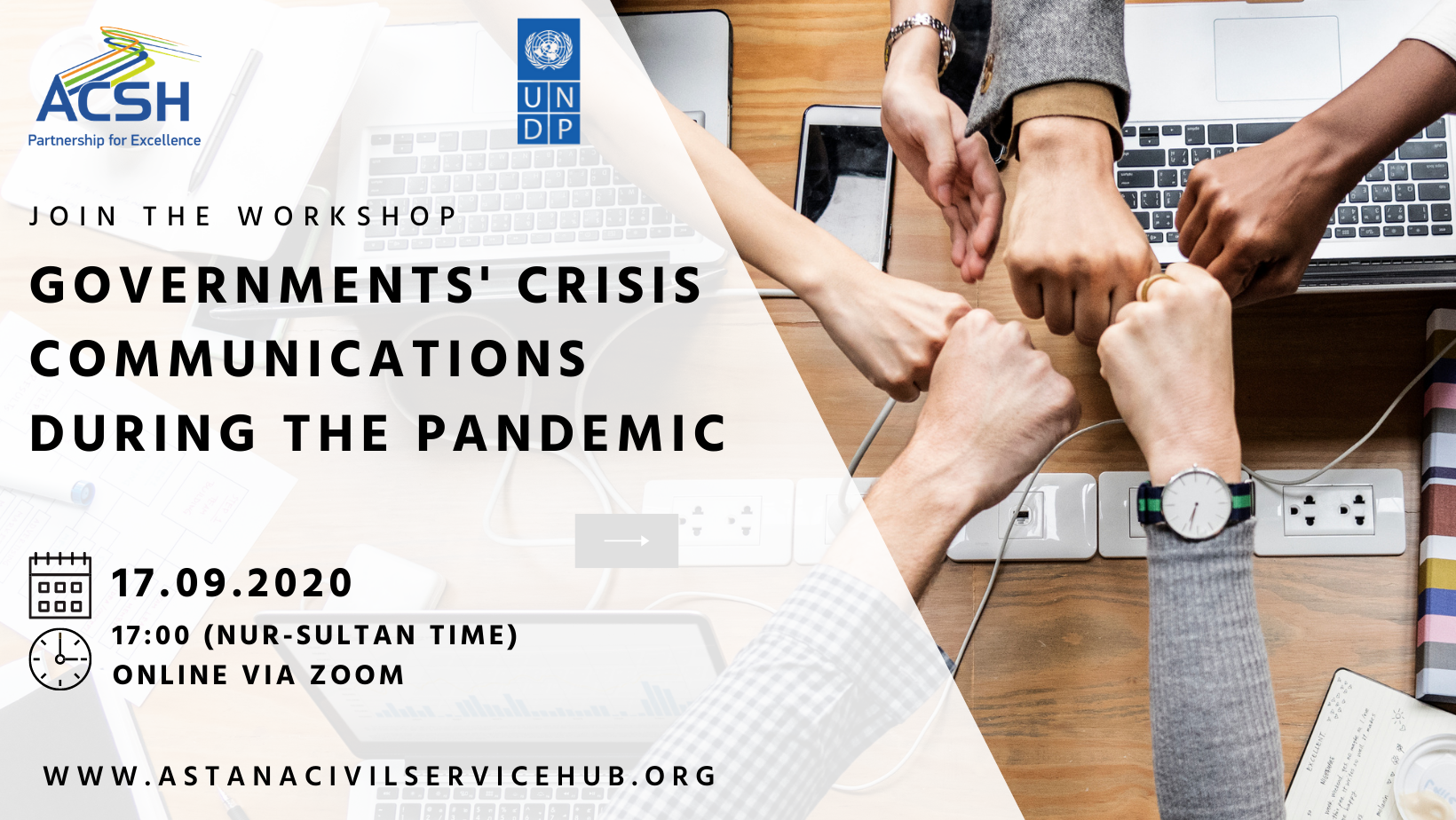 "Online workshop on ""Governments' Crisis Communications During the Pandemic"""