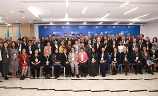 The issues of capacity building of training schools and institutes of public administration discussed in Almaty
