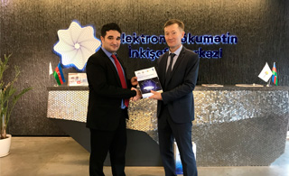 "Hub presented the case study ""Smart Government: Case of Azerbaijan"" in Baku."