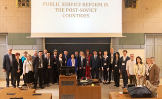 Public Service Reform in the Post-Societ countries discussed at 2019 NISPAcee Annual Conference
